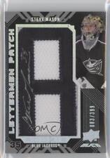 2008 Upper Deck UD Black #50 Steve Mason Columbus Blue Jackets Auto Hockey Card