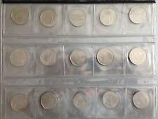 5 DM Kupfer/Nickel, J. 426-440, Schnäppchen, wählen Sie aus !!!