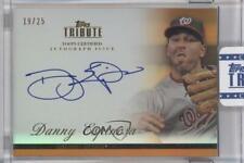 2012 Topps Tribute Autograph Orange Autographed #TA-DE Danny Espinosa Auto Card