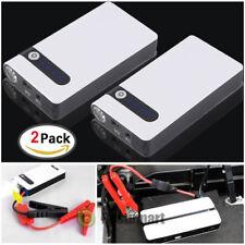 2Multi-Function Car Jump Starter Power Booster Bank Battery Charger 12V 20000mAh