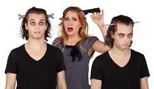 WoW Horror Halloween Haarreif Werkzeug Messer Nagel Schraube Kopfverletzung Blut