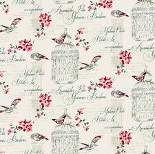 Casa De Muñecas Wallpaper 1/12th 1/24th escala las aves de Papel de calidad # 307