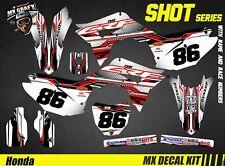 Kit Déco Moto pour / Mx Decal Kit for Honda CRF - Shot Serie