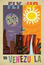 178 Vintage Travel Poster  Venezuela