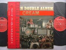 CREAM JAPAN OBI GOLDEN DOUBLE ALBUM GRAMMOPHONE