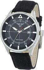 Orologio militare da polso uomo unisex Army Watch Pilot nero