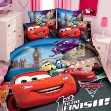 Single/King Single Bed Quilt/Doona/Duvet Cover Set Pillow Case Red McQueen Cars