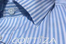 COTTIZA - 100% Egyptian Cotton Mens Business Formal Dress Shirt
