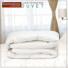 Kensingtons Luxury 100% Soft Microfibre Feels Like Down Duvet All SIZES & TOGS
