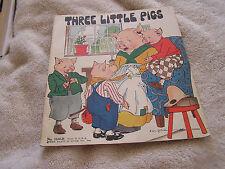 Three Little Pigs Platt Munk Co. 1932 No. 3100-H