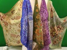 Foulard en soie 100%  52 cm x 52 cm authentique PAVLOV POSSAD Russie
