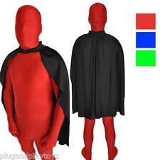 Adult Zentai Lycra Spandex Cape Superhero Costume Party Halloween Accessory USA