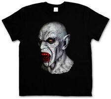 VAMPIRE HEAD T-SHIRT True Bite Teeth Jaws Blood Dracula Bat Count Horror