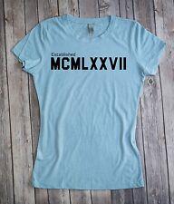 Established In 1977 Women's T-shirt  40th Birthday Gift Tee