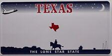 US Auto Kennzeichen STATE LICENSE PLATE Schilder USA Texas mit Wunschprägung