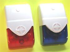 1 X SIRENA & Strobe combinazione unità rosso o blu applicazioni di sicurezza 100db 12vd