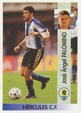 N°296 JOSE ANGEL PALOMINO HERCULES CF CROMO STICKER PANINI LIGA 1997