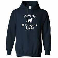 Proprietario di cane Felpa I LOVE Il Mio Barboncino Slogan Pet Amante Carino razza