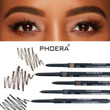 PHOERA 2 in 1 Waterproof Drawing Eye Brow Eyeliner Eyebrow Pen Pencil W/ Brush