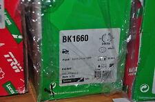 kit frein arrière trw:bk1660,ford courrier, escort ; 228x44