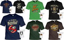 Geschenkset T-Shirt zum 60.Geburtstag + Mini Flaschenshirt - Sprüche 60 Jahre