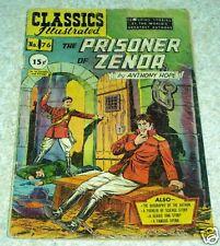 Classics Illustrated 76, VG (4.0) Prisioner of Zenda, HRN75, 50% off Guide!