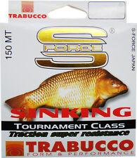 TRABUCCO S-FORCE SINKING 150m./ 164yds.  Match fishing line monofilament