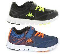 355c8f44a6d1e Kappa Speeder 3 Kids Boys Girls Juniors Trainers Blue Black Orange Sneakers  New