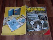 THOROUGHBRED & CLASSIC CARS  5/1977 -- JOCHEN RINDT/NÜRBURGRING/JAGUAR Mk VII