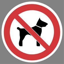 mitführen von Tieren verboten Aufkleber Sticker Schild Hinweis Verbotsschild
