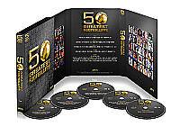 Football's Greatest - 50 Greatest Footballers (DVD, 2010, 5-Disc Set) new