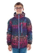 O`Neill Ski Jacket Snowboard Jacket Archive Black Allover Print