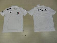 10102 ITALIA PUMA EURO 2012 PUMA ITALIA POLO BIANCA RAPPRESENTANZA OFFICIAL PO