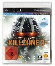 KILLZONE 3  (18) Ubisoft 2011 Sony Playstation 3 Game
