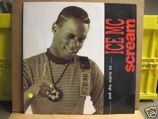 "ICE MC ""Scream"" - 12"" maxi single"