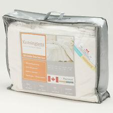 Kensingtons soie 100% canadian goose down quilt couette duvet lit double