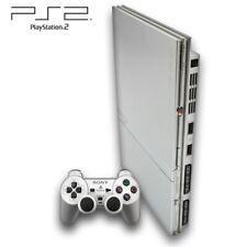 PS2 / Playstation 2 - Konsole Slim #silber (inkl. DualShock Controller & Zub.)