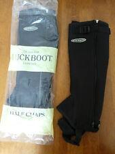 MUCK BOOT COMPANY BLACK NEOPRENE HALF CHAPS    (SHORT)      BRAND NEW