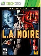 LA NOIRE THE COMPLETE EDITION Microsoft XBox 360 Game