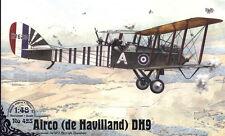 Airco DE Haviland DH-9 (INGLESI, RUSSO & SOVIETICA AF MARCATURE) 1/48 Roden RARA!