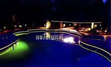 For house decoration underwater illumination optic fiber optic side glow cable