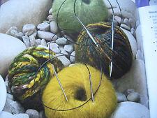 Circa a maglia ago di ottone di lana grossa-Top-con corda-lunghezza 100er