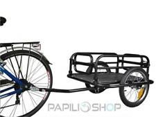 Remorque vélo pour le trasport bagages à de cyclotourisme voyage cargo voyageur