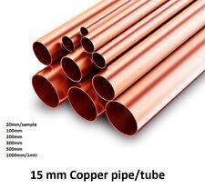10m /& 25m Copper Pipe Soft in Ring in Ø 6-18mm EN1057 for Water Oil /& Gas
