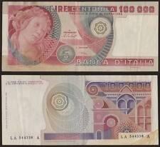 100000 LIRE BOTTICELLI 20/6/1978