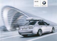 BMW 5er Zubehör Prospekt 6/03 brochure accessories