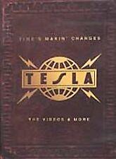 TESLA-THE VIDEOS & MORE DVD-RARE