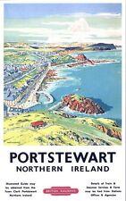 Vintage LMS Portstewart Northern Ireland Railway Poster A3/A2/A1 Print