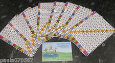 Pratico formato tavola di moltiplicazione, Full Colour ~ KS 2 - 4 apprendimento 13,5 cm x 9.5 cm