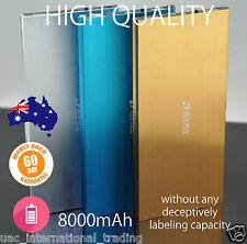 Universal 8000mAh Dual USB Portable Power Bank /Battery Charger for Mobile Phone